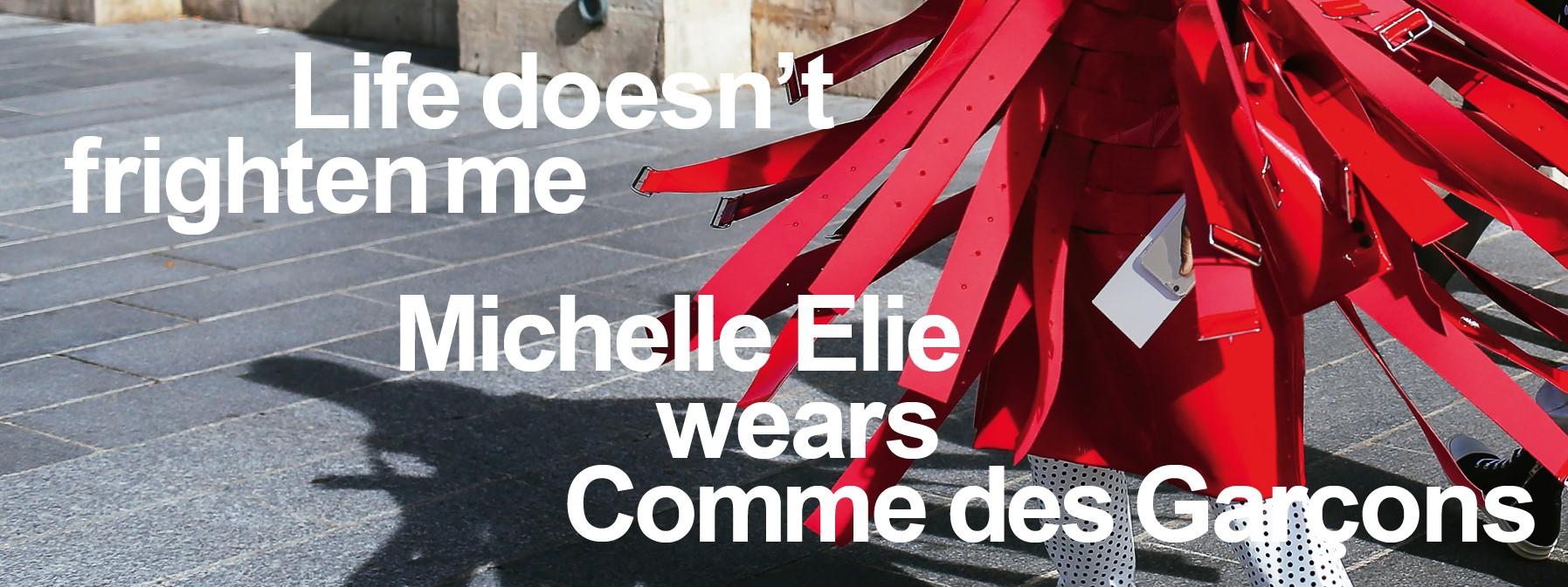 Michelle Elie wears Comme des Garçons: Ausstellung im MAK Frankfurt